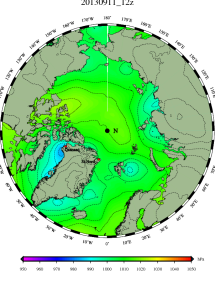 DMI Sep11B pressure mslp_latest.big