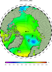 DMI Oct 11 pressure mslp_latest.big