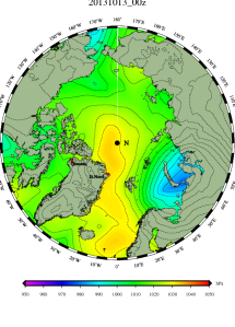 DMI Oct 13 pressure mslp_latest.big