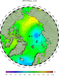 DMI Oct 22B pressure mslp_latest.big