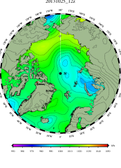 DMI Oct 25N pressure mslp_latest.big