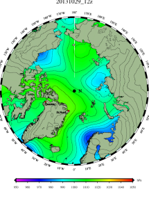 DMI Oct 29B pressure mslp_latest.big