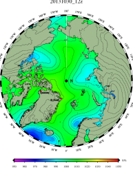 DMI Oct 30B pressure mslp_latest.big