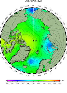 DMI Oct 5B pressure mslp_latest.big