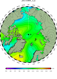 DMI Oct 9B pressure mslp_latest.big