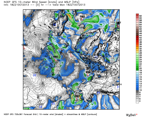 Oct 21 gfs_mslp_uv10m_arctic_1