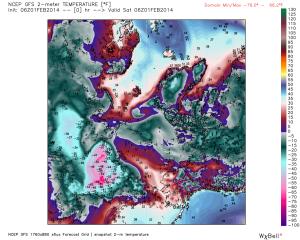 GFS Feb 1 gfs_t2m_arctic_1
