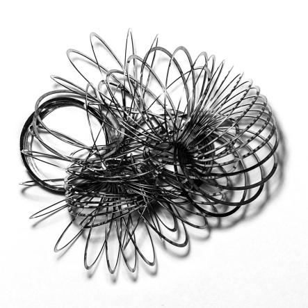 Slinky tangled 8532040475_67e4f48a27_b