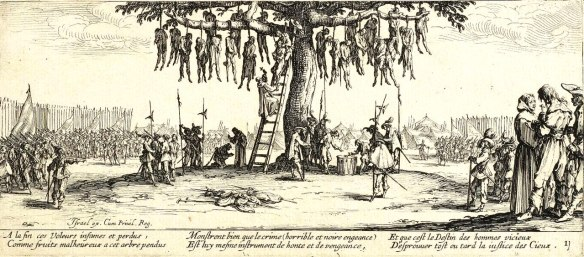Thirty years war 1618-1648 1280px-The_Hanging_by_Jacques_Callot